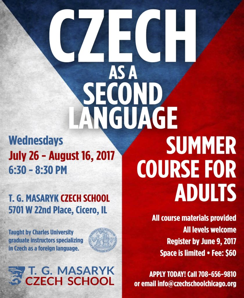 Adult Czech Summer School 2016